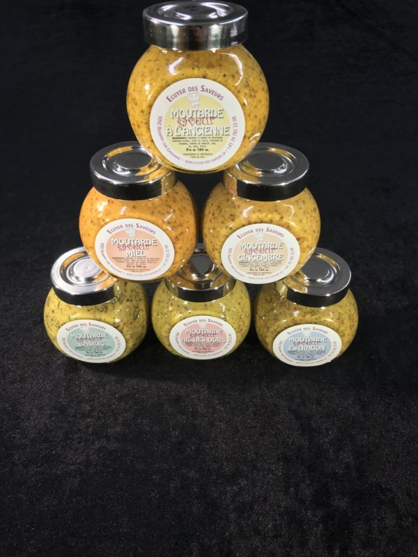 Assortiment moutardes